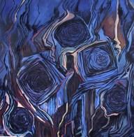 Mixed media on canvas , 120x120 cm, 2007