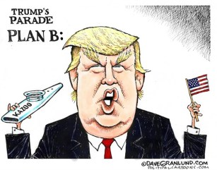 Image result for Trump - Cartoon