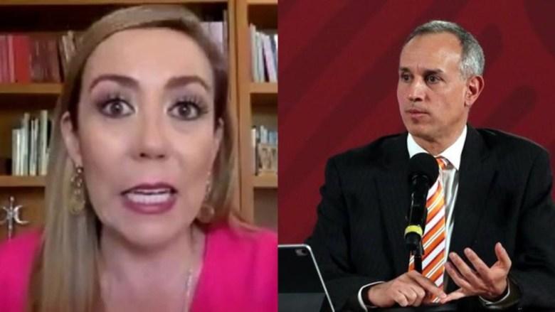 López-Gatell ofrece disculpa pública a senadora del PAN - Pásala