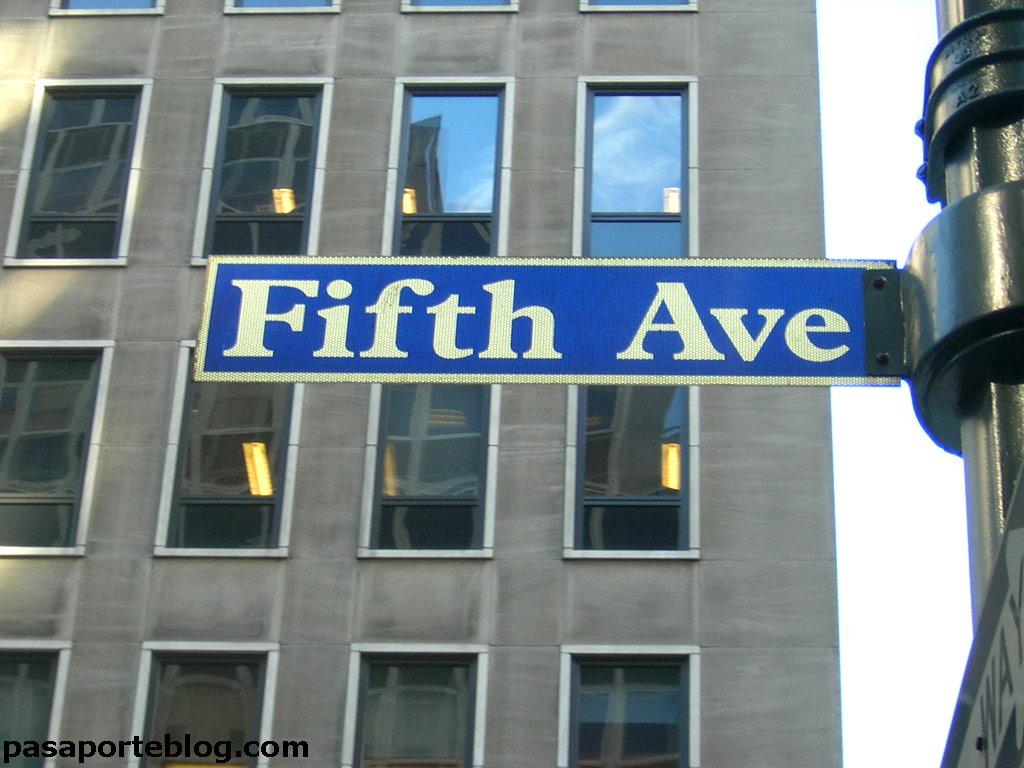 La quinta Avenida, Nueva York