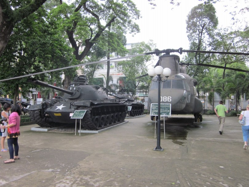 museo de los recuerdos de la guerra saigon