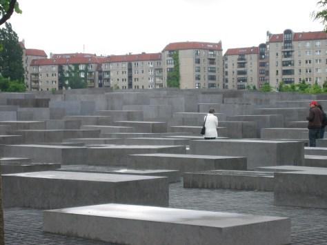 Memorial de los judios Berlin