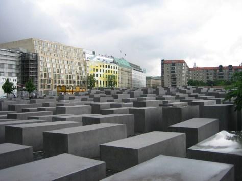 Memorial de los judios Berlín