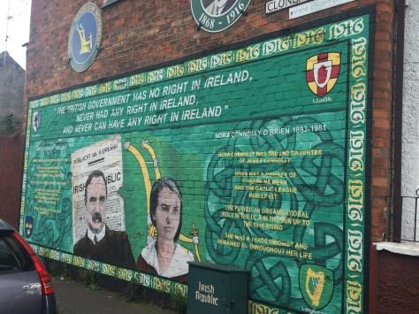 Belfast Barrio Católico