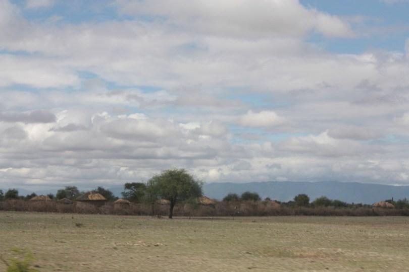 Carretera a Ngorongoro