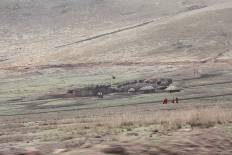poblado masai serengueti