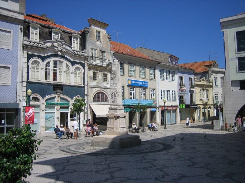 Plaza principal Aveiro