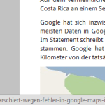 Google Chrome - URL gekürzt