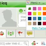 ICQ 7 Farbmenü