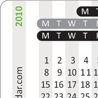 Thumb Calendar 2010 erschienen