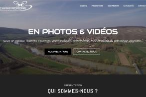 pascale-simonnet.fr - Accueil site Internet Champadrone - Ordinateur