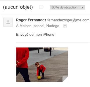 message étrange @mac.com