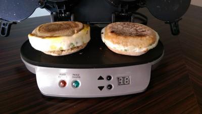 Presse sandwichs déjeuners doubles Hamilton Beach
