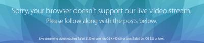 Conférence Apple sur produits Apple