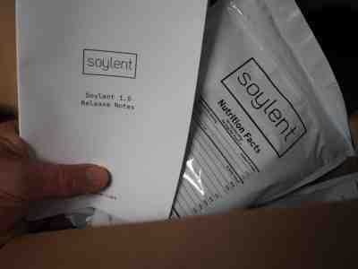 Soylent, un aliment avec des Release Notes, comme un logiciel...