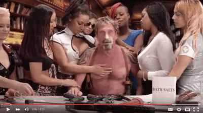 John McAfee bath salt