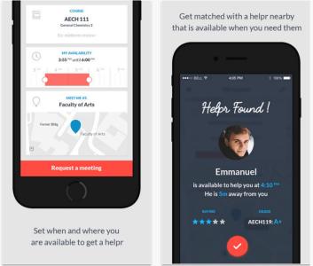 Helpr iOS App