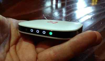 Le routeur cellulaire Karma Go