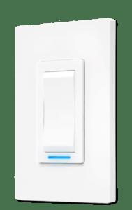 Un interrupteur Sinopé contrôlé par le web