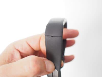 Bracelet connecté Band 2 Microsoft brisé