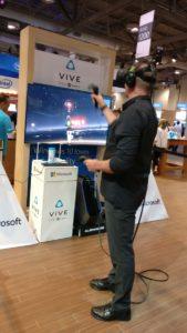 Réalité virtuelle VIVE WPC 2016 Toronto