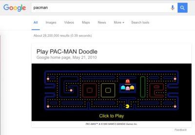Google Pac-Man