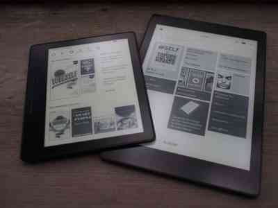 Kobo Aura ONE vs Oasis Kindle