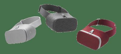 daydream casque réalité virutelle Google