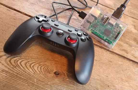 Raspberry Pi retro Gaming Gamesir