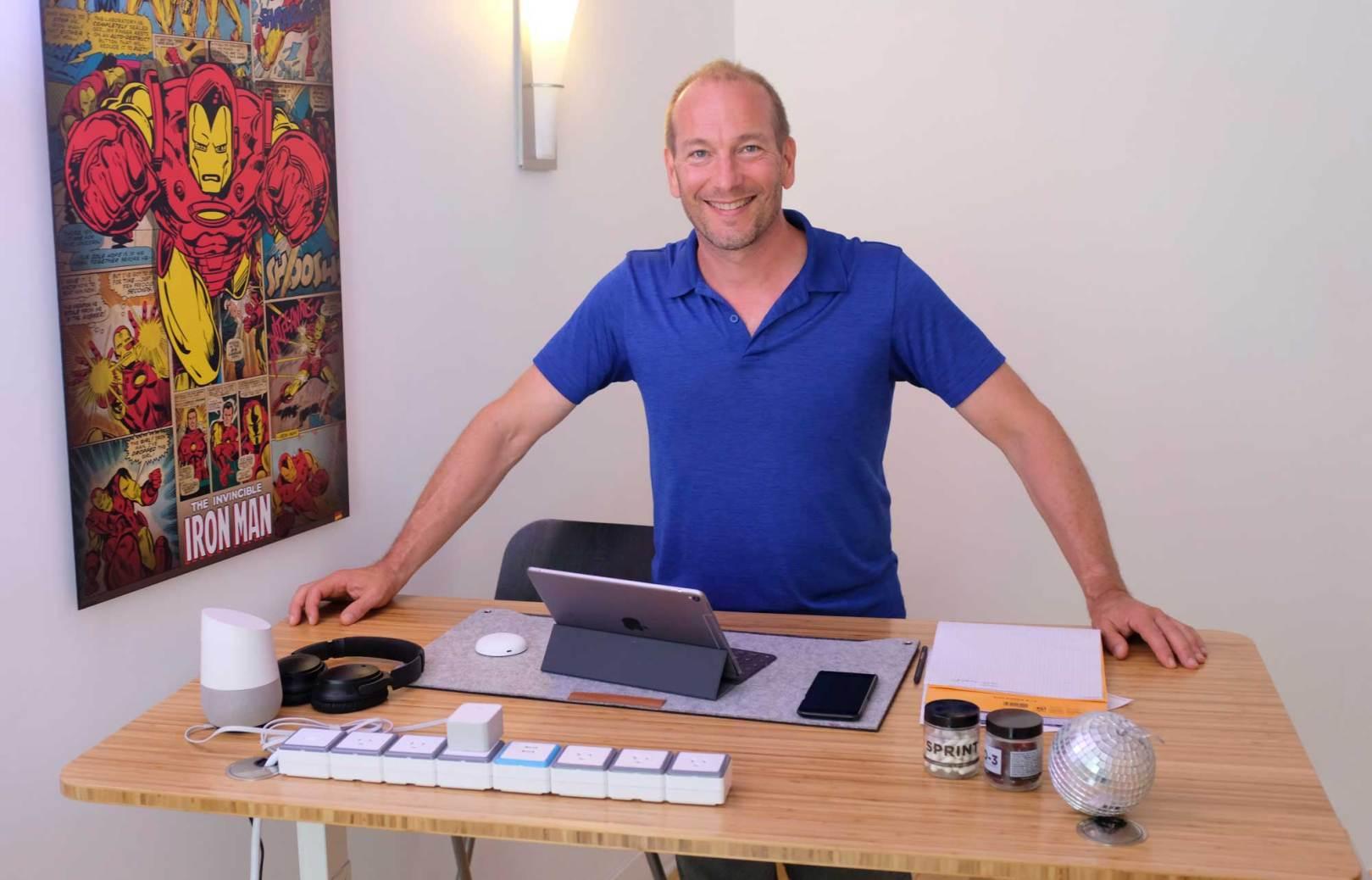 bureau ajustable Smartdesk Home Office Premium Pascal Forget