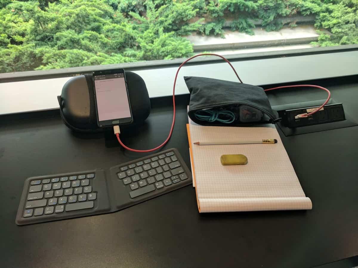 Clavier sans fil voyage kanex compat pliable sans fil Bluetooth