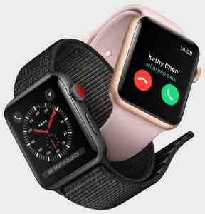 Apple Watch 3 cellulaire