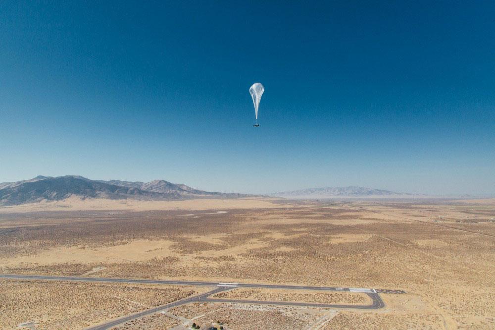 Projet Loon Google wifi ballon