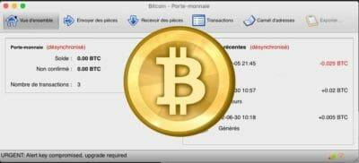 Bitcoins bitcoins porte-monnaie portefeuille