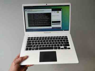 test essai Pinebook laptop 100$