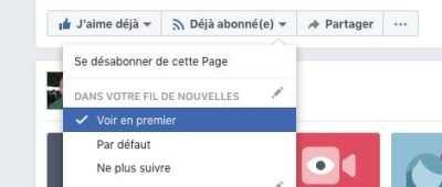 Pascal Forget suivre Facebook voir premier