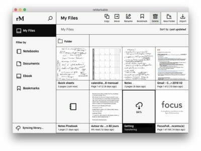 reMarkable App macOS