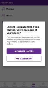 Application Roku TV app store Canada Streaming stick
