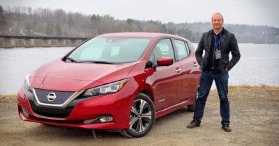 Nissan Leaf 2018 Zero Émission Pascal Forget
