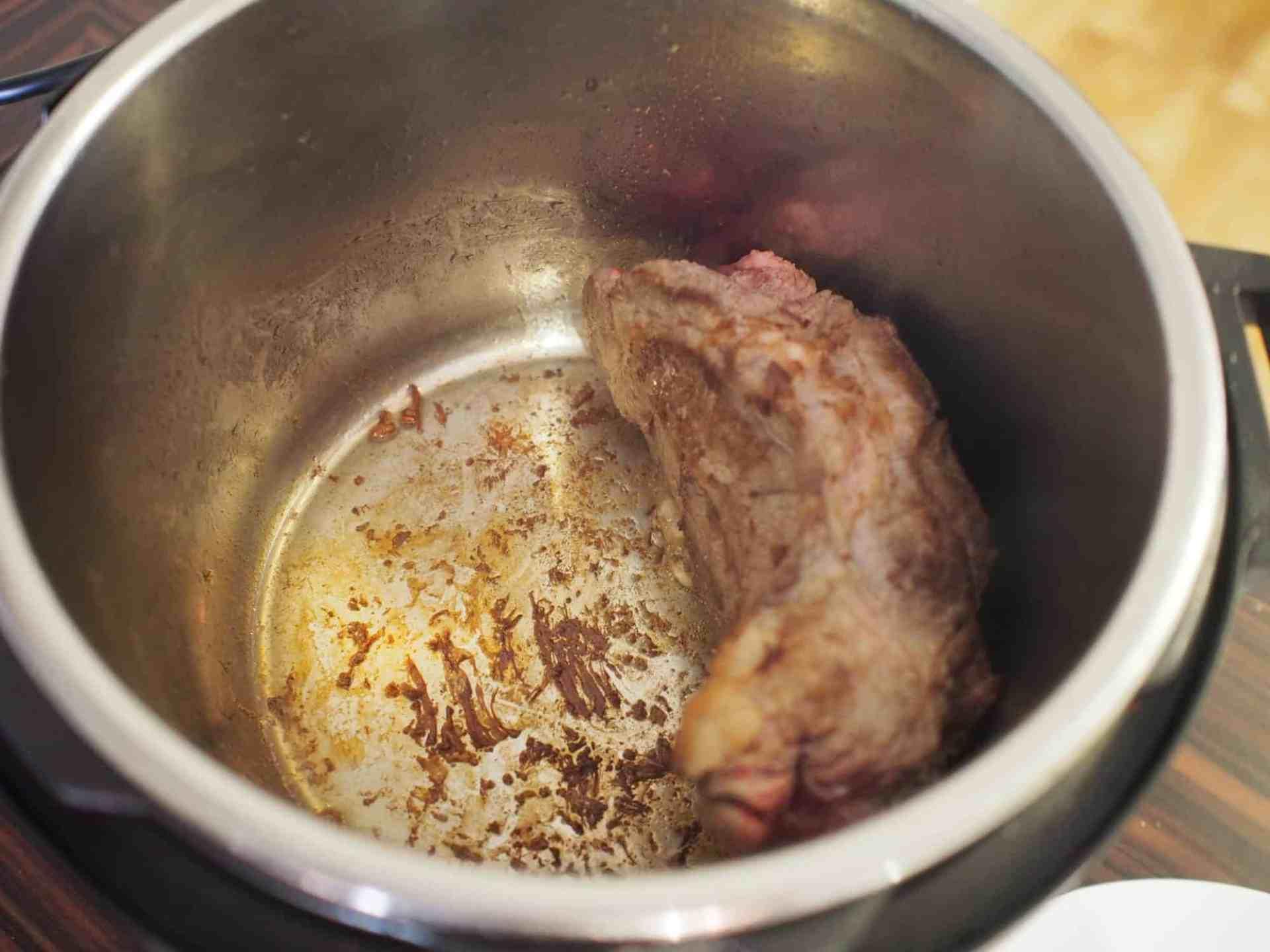 Instant Pot recette boeuf sauté