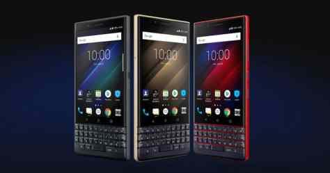 BlackBerry Key2 LE Canada phone keyboard