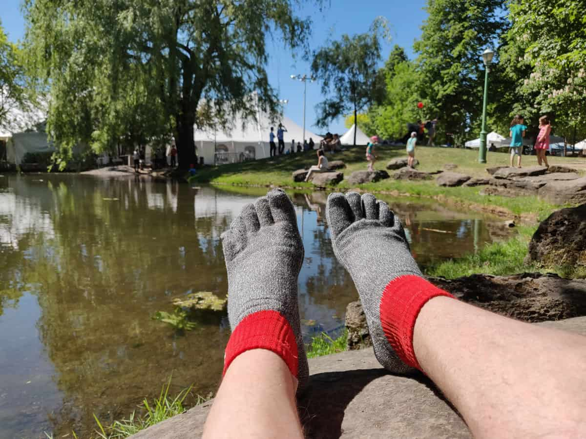 FYF Free Your Feet Socks bas essai review