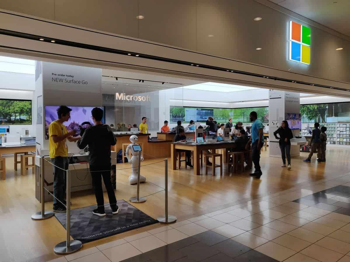 boutique Microsoft geek San Francisco
