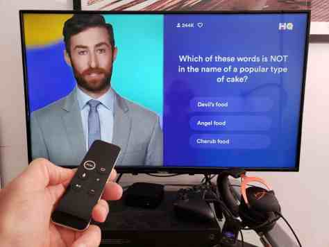 HQ Trivia Apple TV