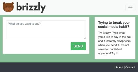 brizzly faux réseau social