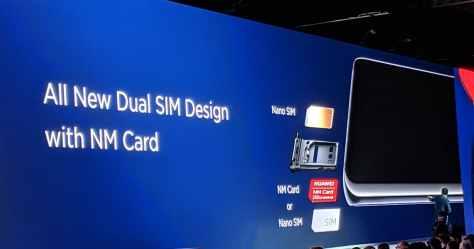 mate 20 pro huawei NM card memory deux SIM