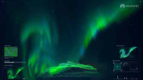 huawei sound of light vienna show premiere northern lights