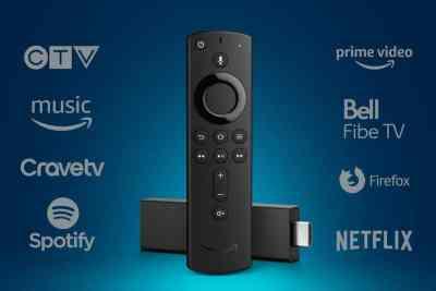 Amazon Fire TV 4K Alexa tout.tv netflix