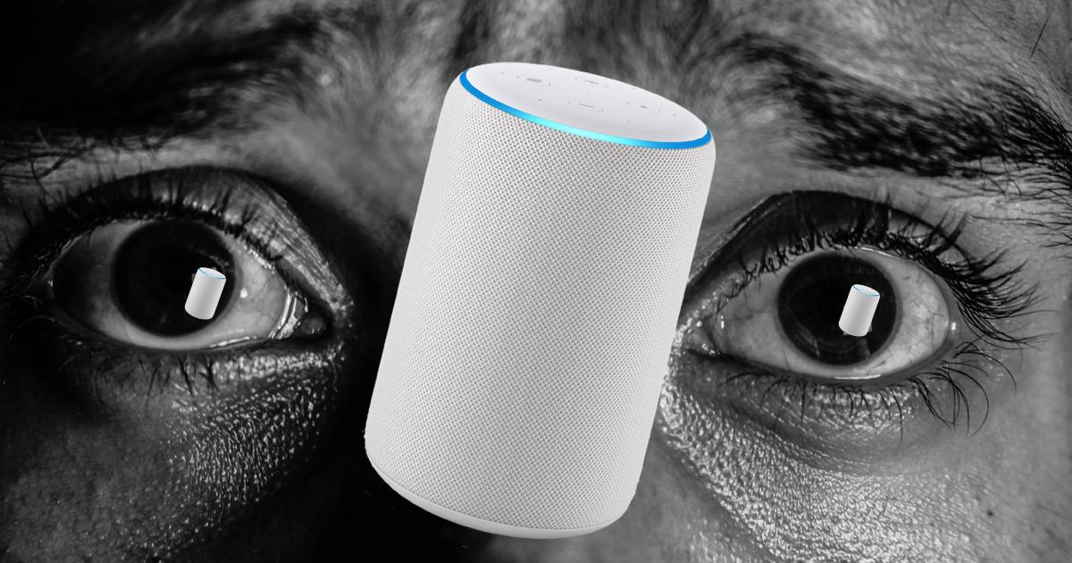 Amazon assistant vocal Alexa peur angoisse stress