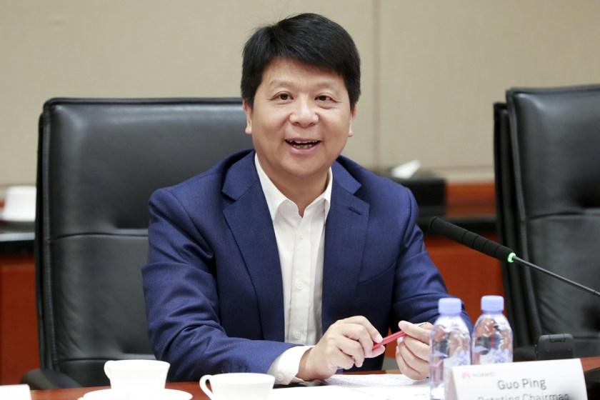 Guo Ping rotating Chairman Huawei président conseil